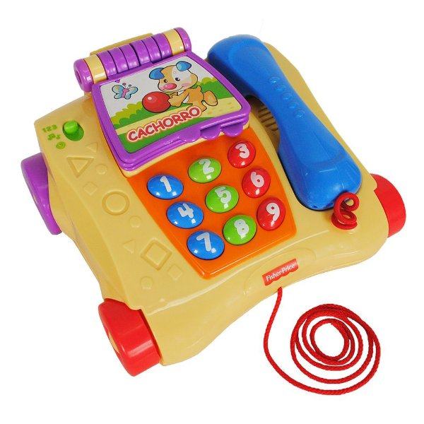 Telefone Musical - Aprender e Brincar - Fisher Price