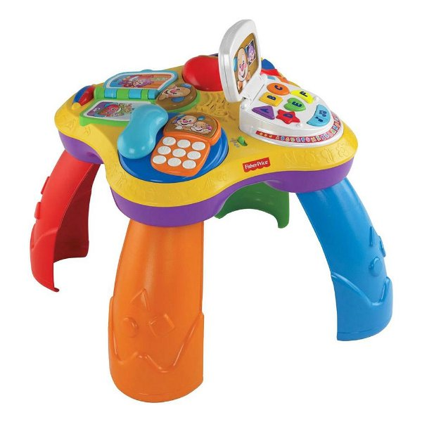Mesa Bilíngue do Cachorrinho Aprender e Brincar - Fisher Price