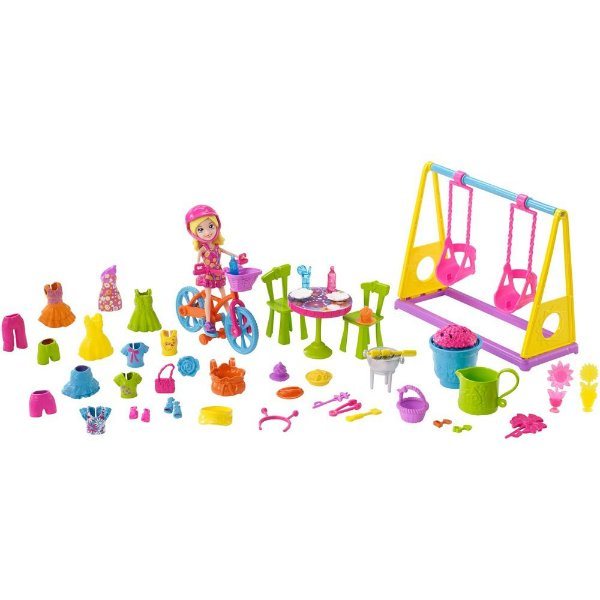 Polly Pocket - Diversão no Jardim - Mattel