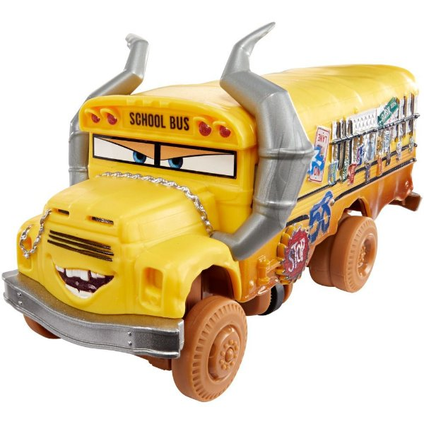 Corredores Crazy 8 - Miss Fritter - Carros 3 - Mattel
