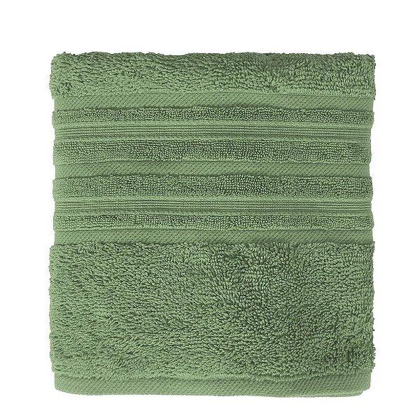 Toalha de Rosto Maxy Fio Penteado - Verde Militar - Karsten