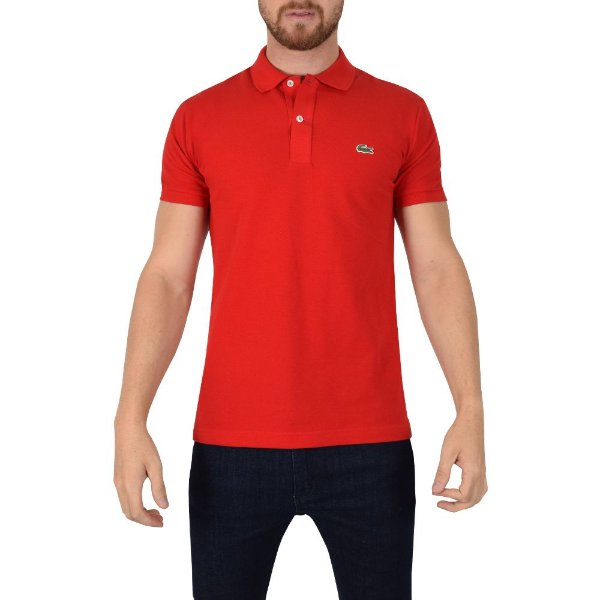 Camisa Polo Slim Fit Lacoste