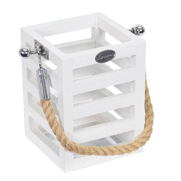 Cachepô Lanterna Decorativa Pequena - Mabruk