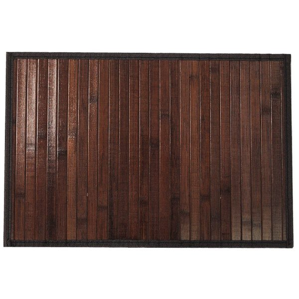 Conjunto Jogo Americano Bambu - Marrom - Mimo Style