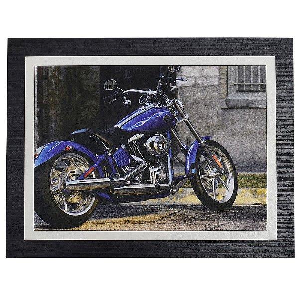 Quadro Decorativo Motorcycle - 30 x 23 cm
