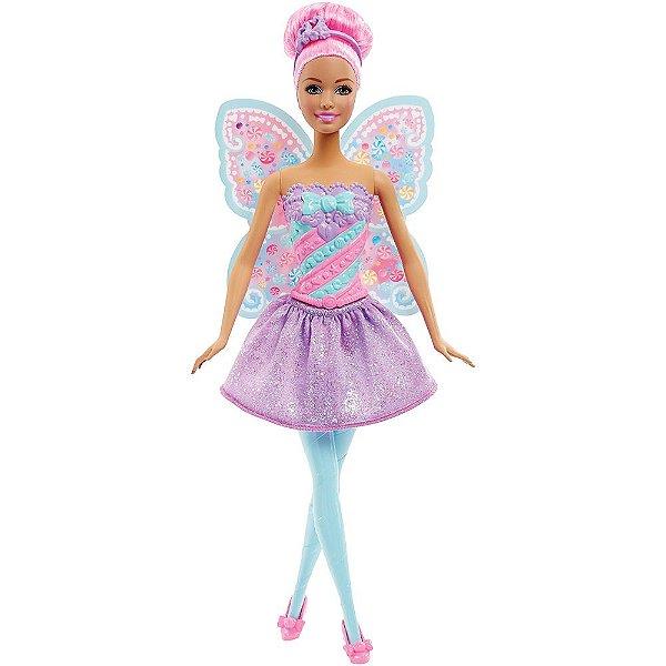 Barbie Fada Reino dos Doces - Dreamtopia - Mattel