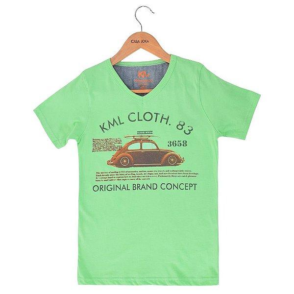 Camiseta Infantil Brand Concept - Kimalukoo
