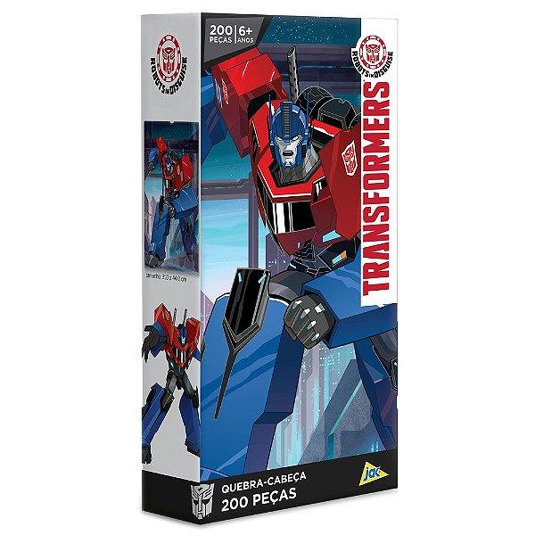 Quebra-Cabeça Transformers - 200 peças - Toyster