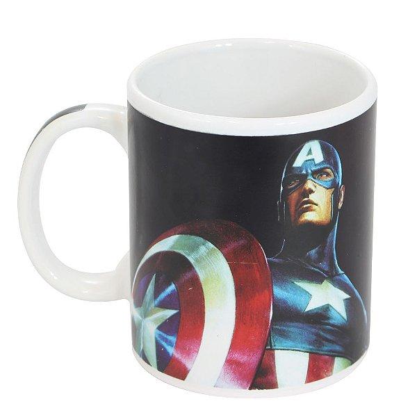 Caneca Mágica Avengers - Capitão América - Zona Criativa