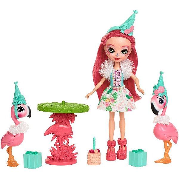 Enchantimals - Festa com Flamingos - Fanci Flamingo - Mattel