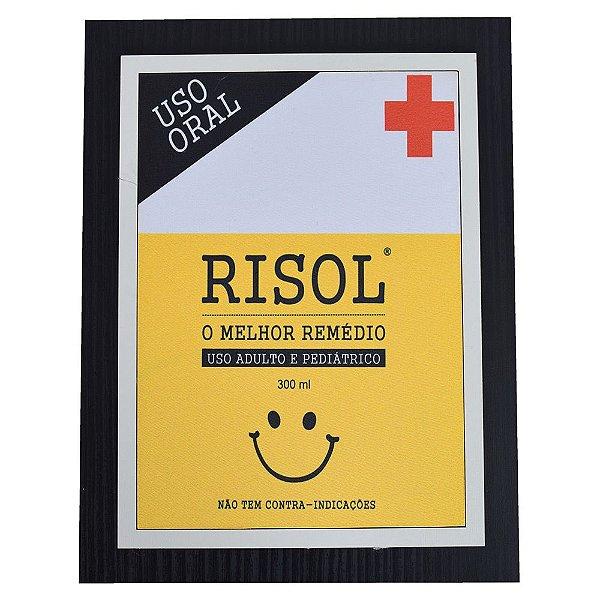 Quadro Decorativo Risol - 30 x 23 cm