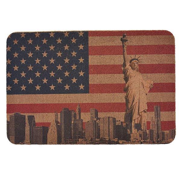 Capacho Vintage - 40 x 60 cm - Nova York - Camesa