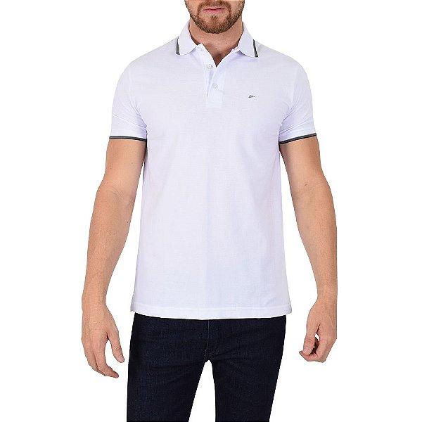 Camisa Polo Básica Branca - Ellus