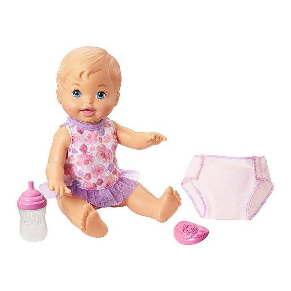 Little Mommy - Bebê Faz Xixi - Mattel