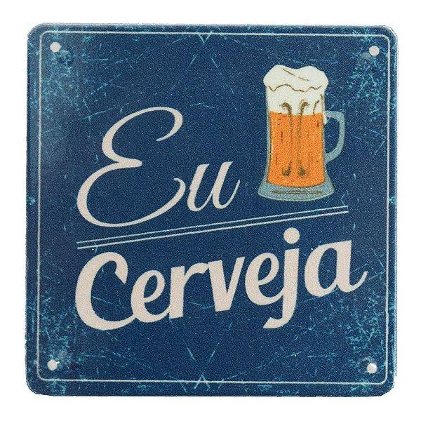 Super Ímãs Eu Amo Cerveja - Geguton