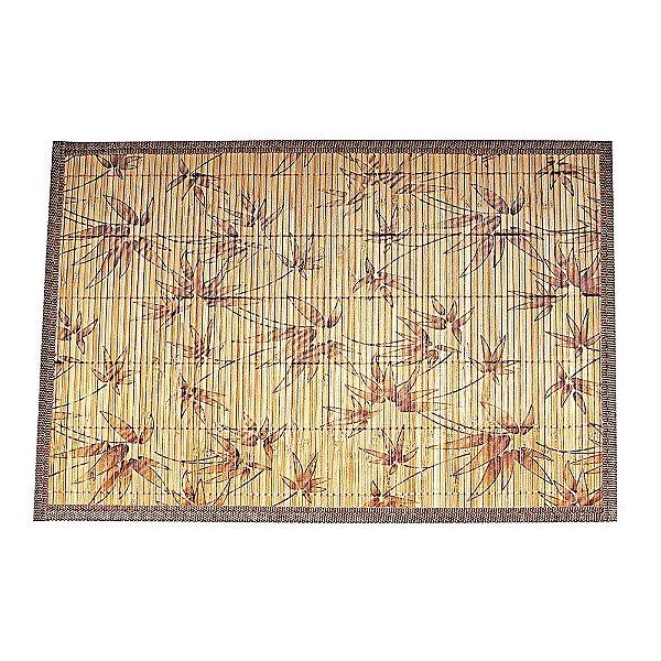 Conjunto Jogo Americano Bambu - Floral - Mimo Style