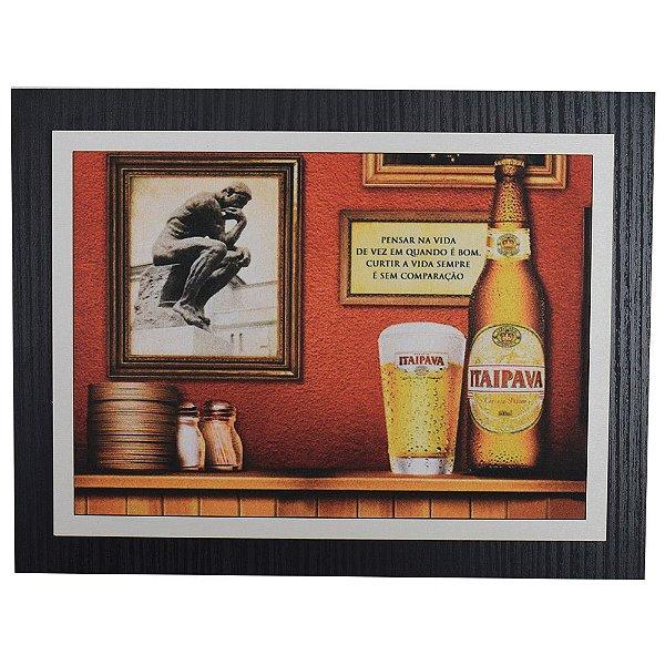 Quadro Decorativo Itaipava - 30 x 23 cm