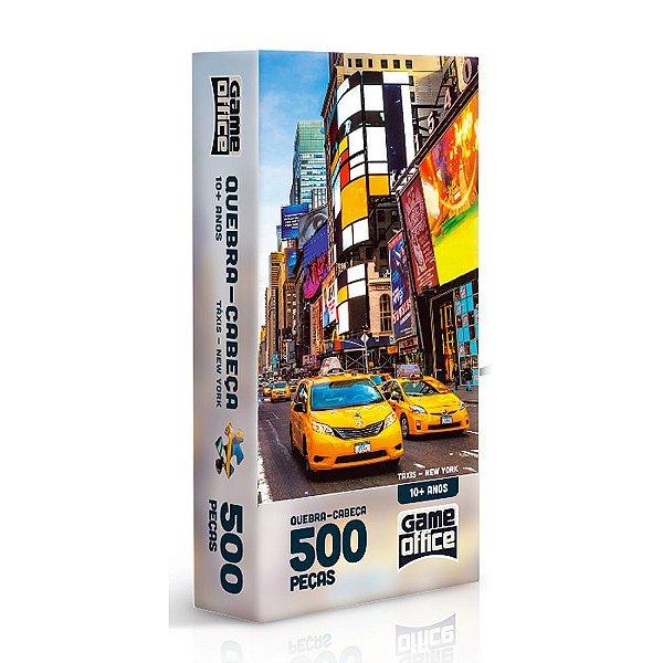 Quebra-Cabeça Táxis New York - 500 peças - Toyster