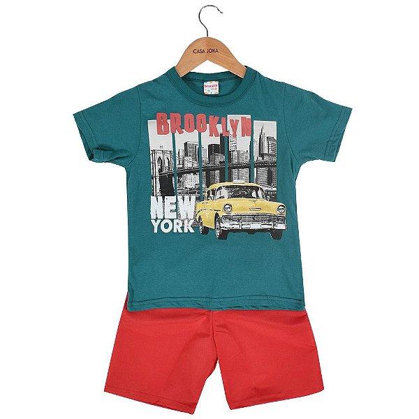 Conjunto Infantil Masculino Brooklyn - Brandili