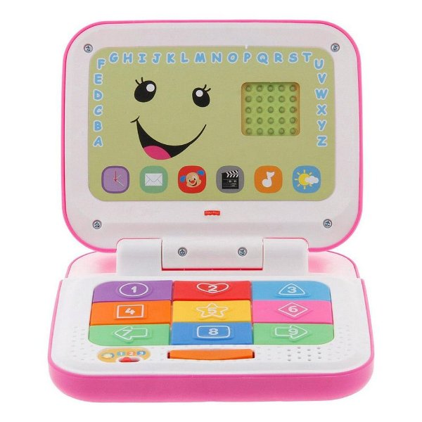 Laptop Aprender e Brincar Rosa - Fisher Price