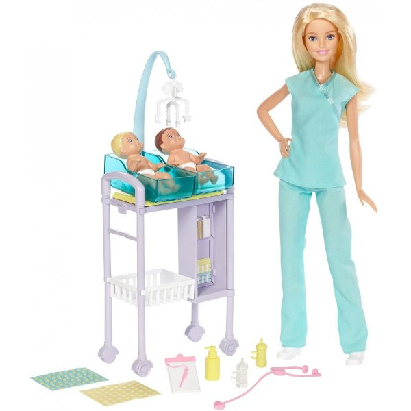 Boneca Barbie Pediatra - Mattel