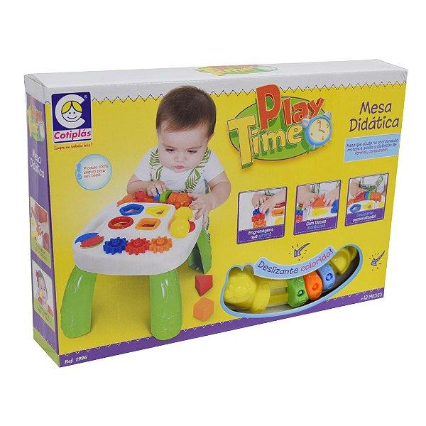 Mesa Didática Play Time - Cotiplás