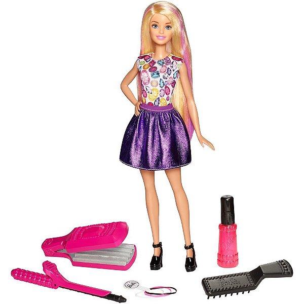Boneca Barbie Ondas e Cachos - Mattel