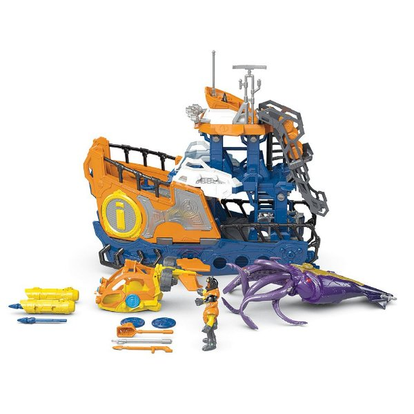 DC Super Friends - Navio Comando Submarino - Imaginext