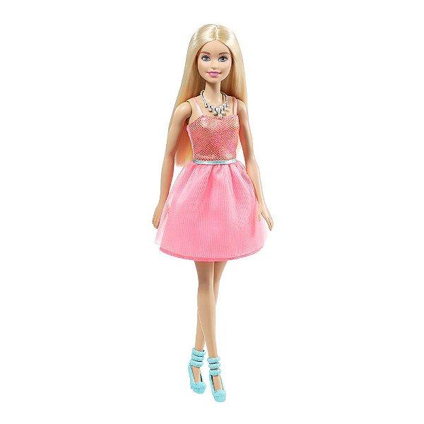 Barbie Fashion Glitter - Rosa - Mattel