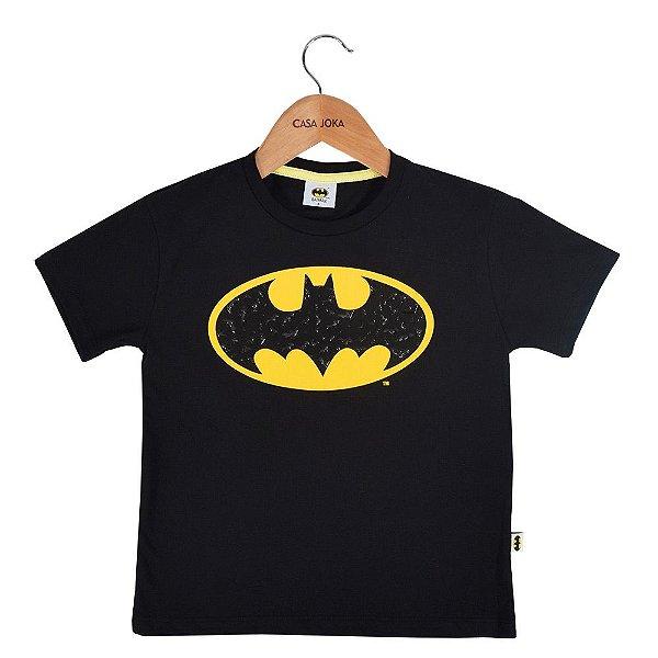 Camiseta Infantil Masculina Batman - Fakini