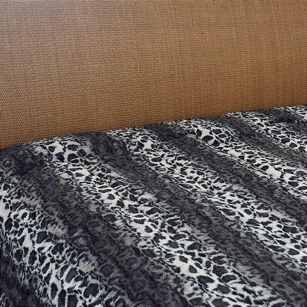 Cobertor Queen Plush Peles Jaguar - Hedrons