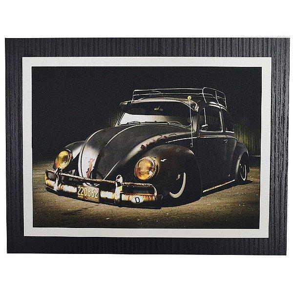 Quadro Decorativo Fusca Tuning - 30 x 23 cm