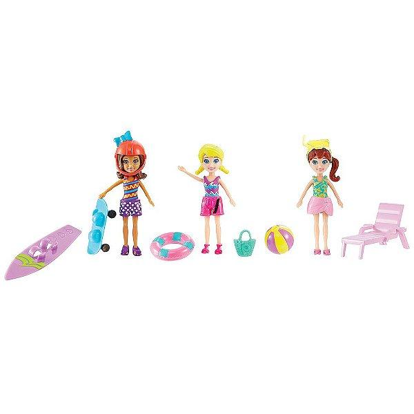 Polly Pocket Diversão no Mar & Areia - Mattel