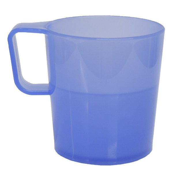 Caneca Empilhável Azul - 250 ml - Coza