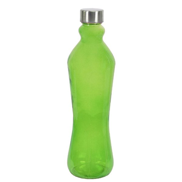Garrafa de Vidro Futura - 1L - Verde