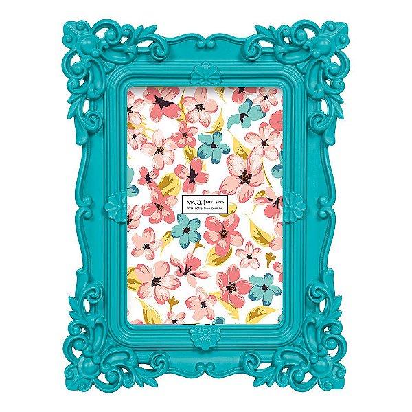 Porta Retrato Azul 10 x 15 cm - Mart