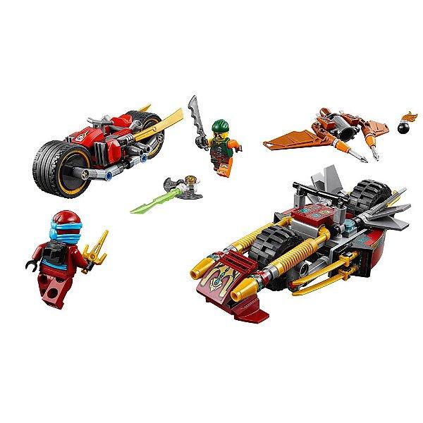 Lego Ninjago - Perseguição de Motocicleta Ninja