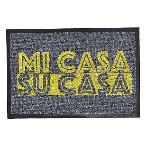 Capacho Dizeres - 40 x 60 cm - Mi Casa Su Casa - Camesa