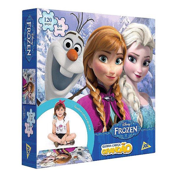 Quebra-Cabeça Grandão Frozen - 120 peças - Toyster