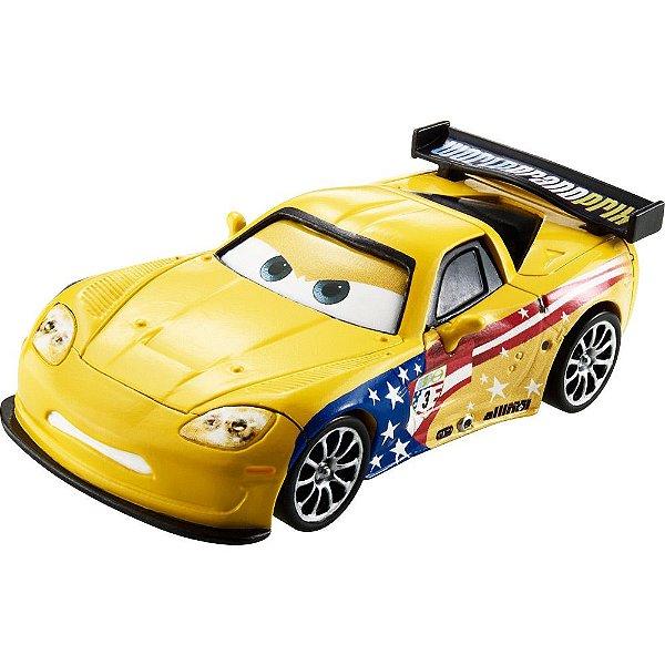 Jeff Gorvette - Disney Carros - Mattel