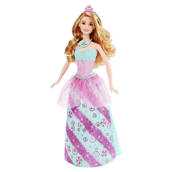 Barbie Princesa Reinos Mágicos - Reino dos Doces - Mattel