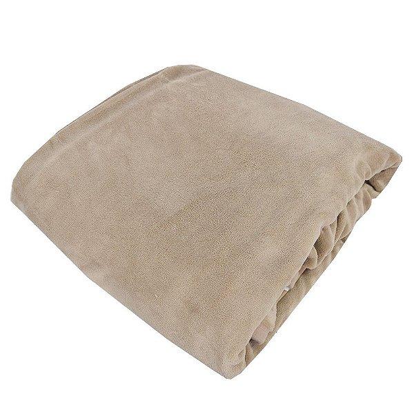 Cobertor em Microfibra Queen Aspen Castanho - Buddemeyer