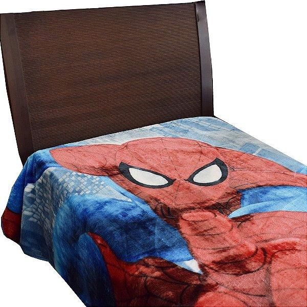 Cobertor Infantil Raschel Spider Man - Jolitex