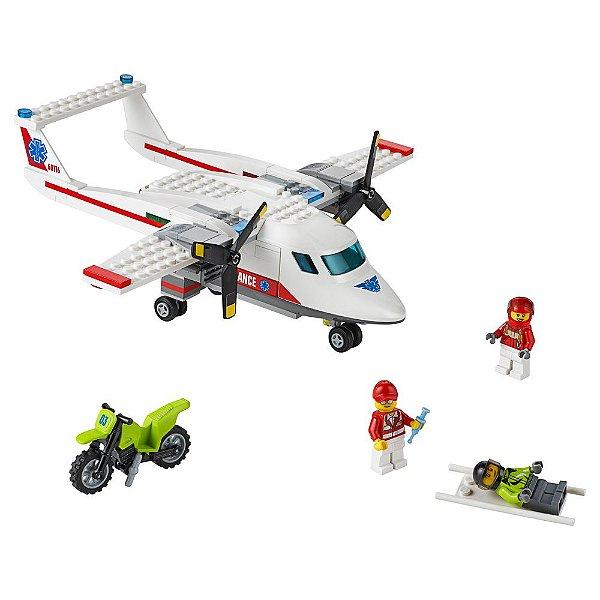 Lego City Avião Ambulância - Lego