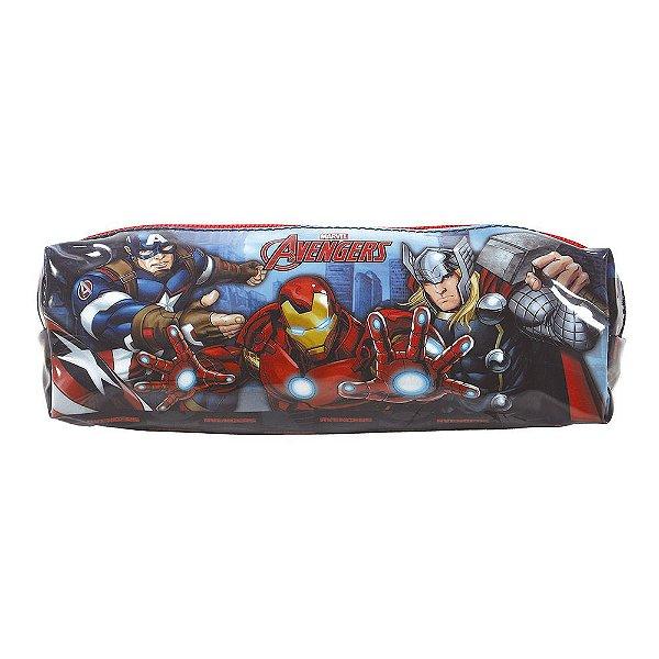 Estojo Avengers Revolution - 1 Divisória - Xeryus