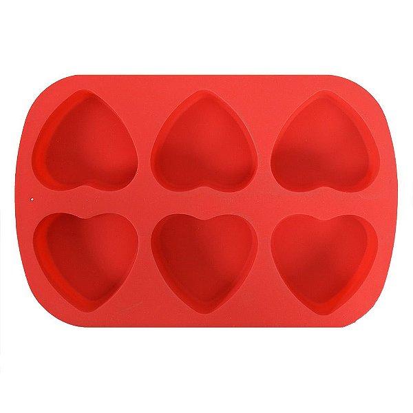 Forma de Silicone Para Confeitar - Coração - Class Home
