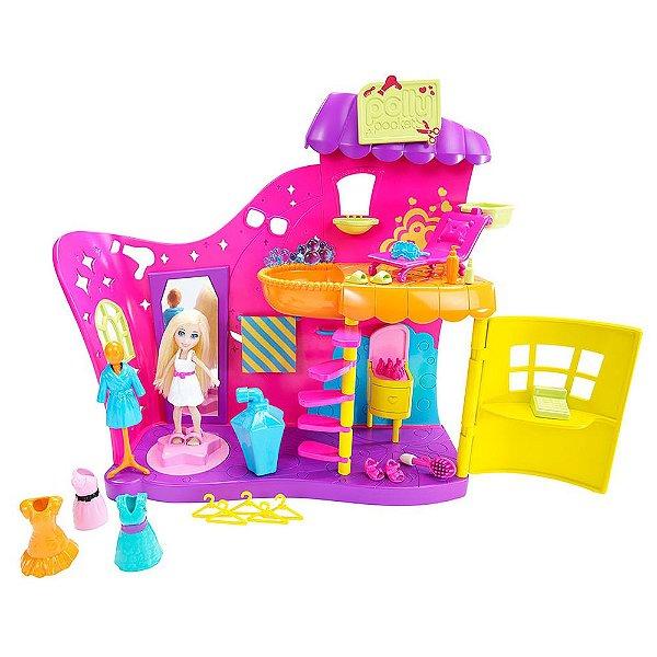 Polly Pocket - Salão de Beleza - Mattel