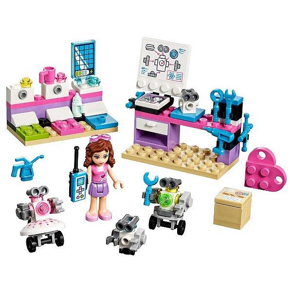 Lego Friends - Laboratório Criativo da Olivia
