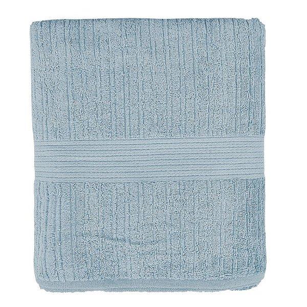 Toalha de Banho Canelada Fio Penteado - Azul Claro - Buddemeyer