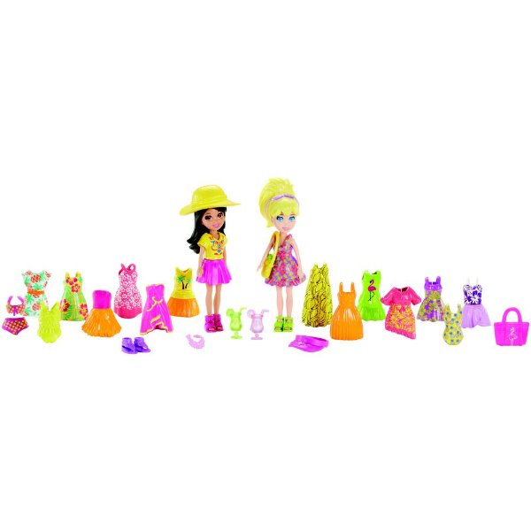 Polly Pocket - Férias Tropicais - Mattel